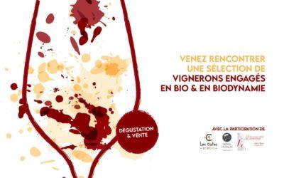 Salon des Vignerons Dynamiques, les 30 et 31 octobre 2021